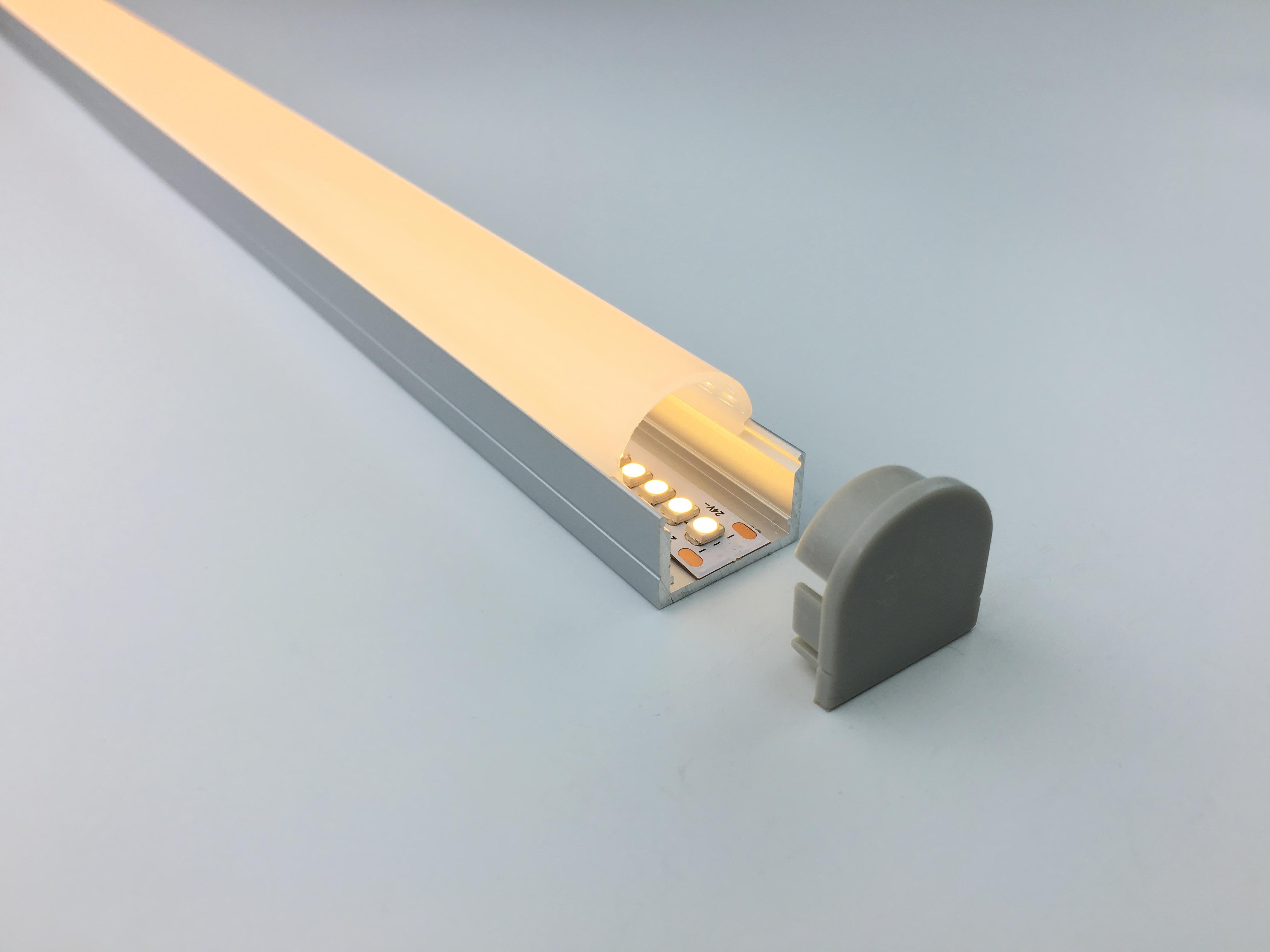 ALUPROFIL 2M 19,4 x 20,2mm