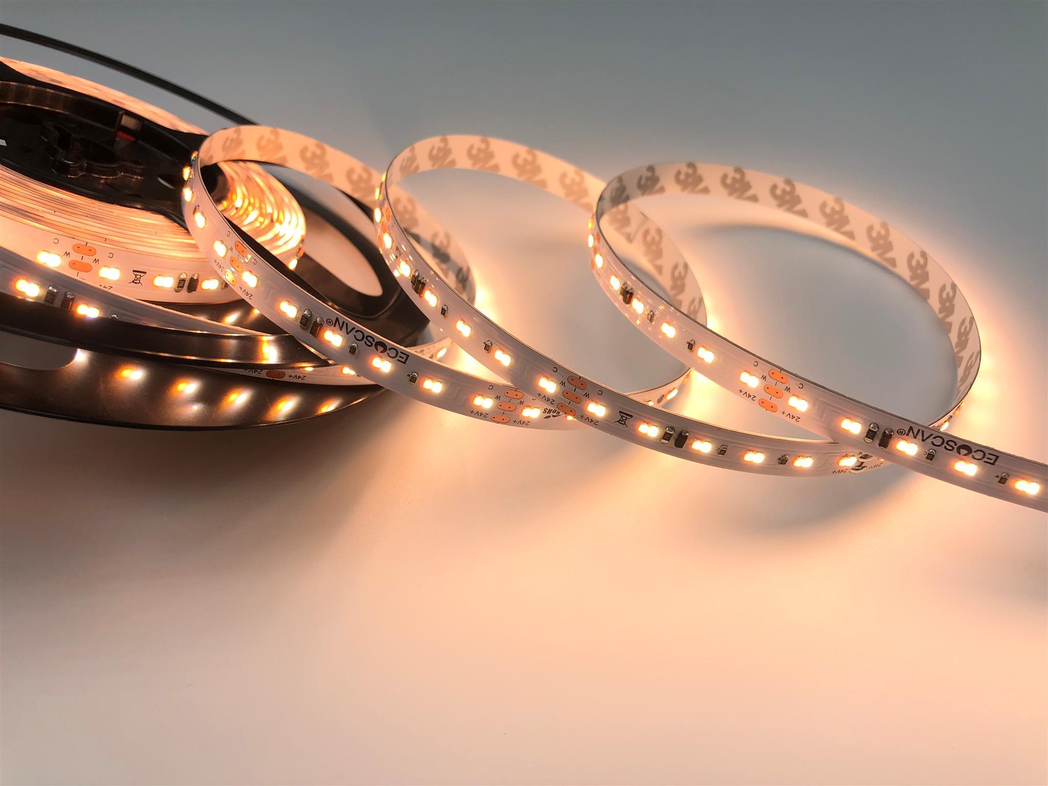 LED STRIP 15W/M DIM-TO-WARM 24V