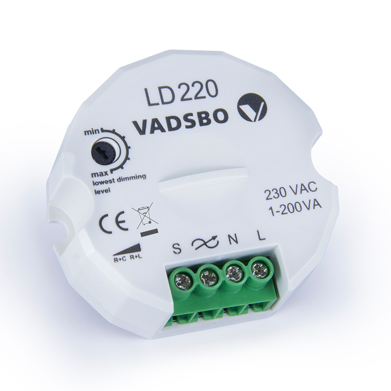 Dimmer LD220 PUSHDIM 230V